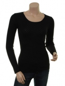 Modal T-Shirt 1-6286-5 von Noa Noa in Black
