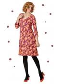Kleid Klaras Fancy Leaves von Du Milde