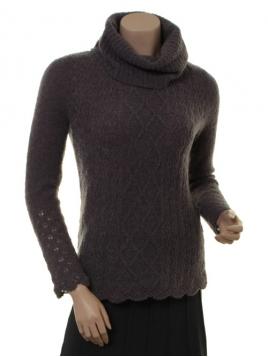 Mohair-Knitwear Polly von Sorgenfri Sylt in Stone