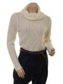 Mohair-Knitwear Polly von Sorgenfri Sylt in Ivory
