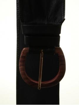 Leder-Gürtel 1-7822-1 von Noa Noa in black