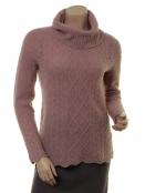 Mohair-Knitwear Polly von Sorgenfri Sylt in Powder