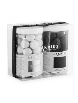 Double-Trouble Black-White Snowball (500g) von Lakrids by Johan Bülow