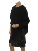 Poncho Florinda von Part-Two in Black