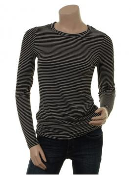Langarm T-Shirt Bamaja von Part-Two in Artwork Black