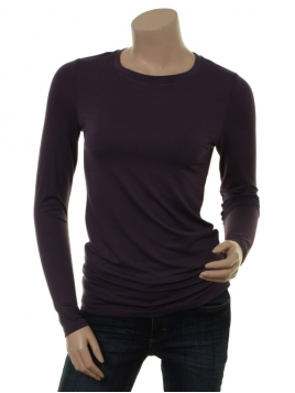 Langarm T-Shirt Bamaja von Part-Two in Plum Perfect