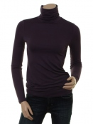 Langarm T-Shirt Afinas von Part-Two in Plum Perfect