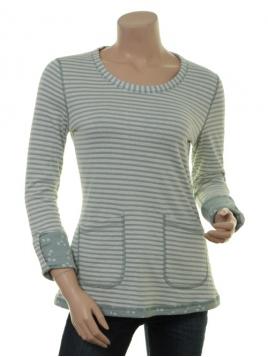 Shirt Lintje 18-029-301 von Sorgenfri Sylt in misty green