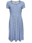 Kleid Tilda 18-038-306 von Sorgenfri Sylt in aqua