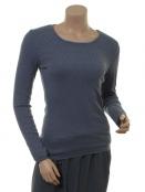 Langarm T-Shirt Malin von Sorgenfri Sylt in Aqua