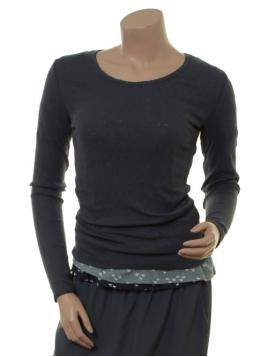 Langarm T-Shirt Malin von Sorgenfri Sylt in Night