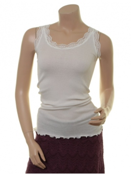 Seiden-Shirt New Moni von Sorgenfri Sylt in Ivory