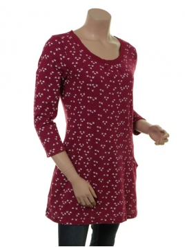 Shirt Christa von Sorgenfri Sylt in raspberry