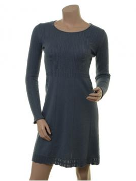 Kaschmir-Knitwear-Kleid Osrun 18-080-306 von Sorgenfri Sylt in Aqua