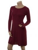 Kaschmir-Knitwear-Kleid Osrun 18-080-561 von Sorgenfri Sylt in Raspberry