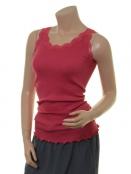 Seiden-Shirt New Moni von Sorgenfri Sylt in Coral