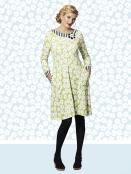 Kleid Caroline Limeflower von Du Milde