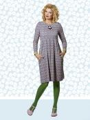 Kleid Almina Flowerpot von Du Milde
