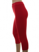 Kurze Leggings von Du Milde in red