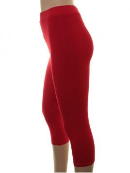 Kurze Leggings von Du Milde in red