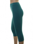 Kurze Leggings von Du Milde in petrol