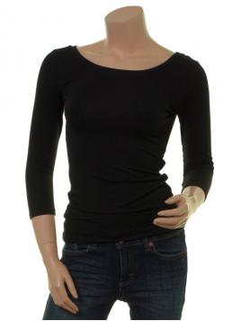 Langarm T-Shirt Trinis von Du Milde in black