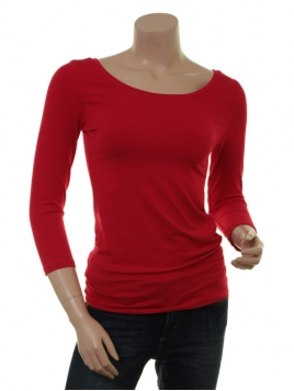 Langarm T-Shirt Trinis von Du Milde in red