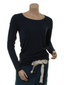 Langarm T-Shirt 1-5270-12 von Noa Noa in dress blue