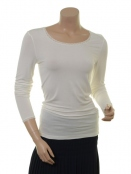 Langarm T-Shirt 1-6232-8 von Noa Noa in cloud dancer