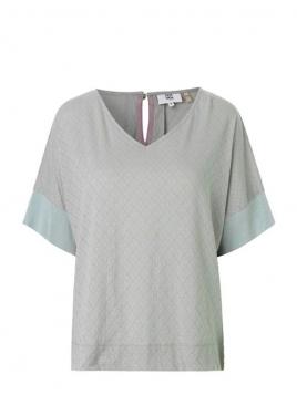 T-Shirt 1-8335-1 von Noa Noa in mineral gray