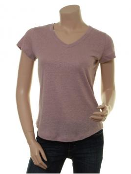Glitzer Kurzarm T-Shirt 1-8341-1 von Noa Noa in print nude
