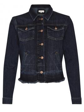 Jeans-Jacke Kevyn von Part-Two in Dark Vintage Denim
