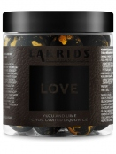 Love-Dark yuzo-lime choc-coated (150g) Lakrids by Johan Bülow