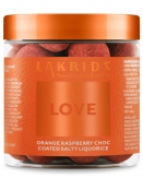 Love-Orange raspberry choc salty (150g) Lakrids by Johan Bülow