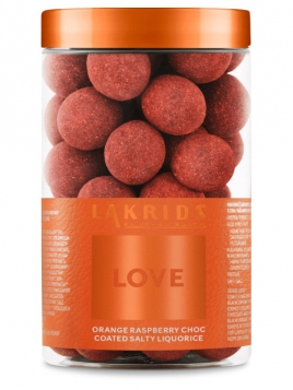 Love-Orange raspberry choc salty (250g) Lakrids by Johan Bülow