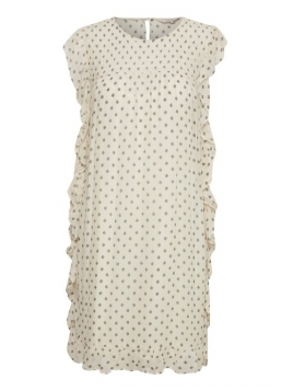 Kleid Lilette von Part-Two in Art White