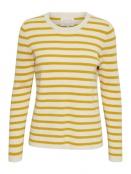 Pullover Konja gestr. artw. med. yellow von Part-Two