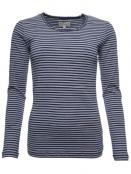 Langarm T-Shirt Sandra 28-041-320 von Sorgenfri Sylt in midnight