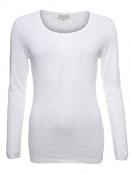 Langarm T-Shirt Malin 28-046-100 von Sorgenfri Sylt in ivory