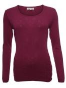 Langarm T-Shirt Malin 28-046-500 von Sorgenfri Sylt in burgundy