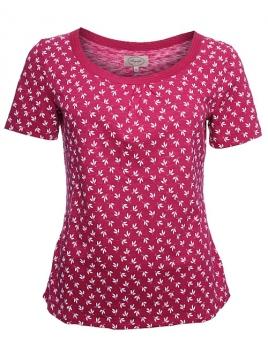Shirt Lenka 28-055-503 von Sorgenfri Sylt in peonie