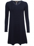 Kleid Pauletta 28-072-320 von Sorgenfri Sylt in midnight