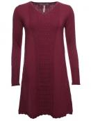 Kleid Pauletta 28-072-500 von Sorgenfri Sylt in burgundy