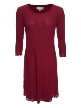 Kleid Emilia 28-078-500 von Sorgenfri Sylt in burgundy