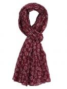 Schal Dilara 28-127-500 von Sorgenfri Sylt in burgundy