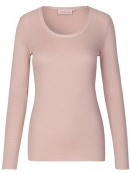 Langarm T-Shirt 1-6286-9 von Noa Noa in adobe rose