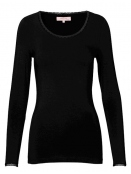 Langarm T-Shirt 1-6232-9 von Noa Noa in black