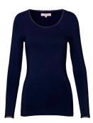 Langarm T-Shirt 1-6232-9 von Noa Noa in maritime blue