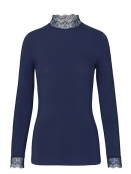 Langarm T-Shirt 1-8569-2 von Noa Noa in maritime blue