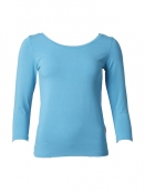 Langarm T-Shirt Trinis von Du Milde in turquoise